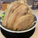 名古屋辛ジロー 天風 - 料理写真:みそ肉麺(ニンニク無し・野菜マシ)