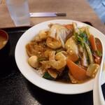 元町食堂 - 中華丼