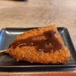 元町食堂 - アジフライ