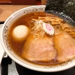 151626168 - 味玉中華そば(煮干し醤油スープ)