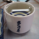 多田屋 - 冷酒(黒牛 純米)