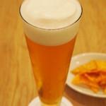 トモチェカフェ - アルコールもありますよ♪テラスでいかがですか?