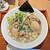 らぁ麺 胡心房 - 料理写真:「味玉ラーメン」¥880