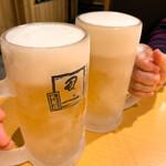 151636936 - 【2021年05月】最初の一杯「生」は@199円で乾杯(^^)/
