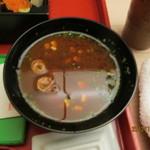 醍醐 - 2012.10.6 赤だし(豆腐)