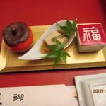 醍醐 - 2012.10.6 前菜三種盛