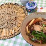 江戸切りそば 石泉 - 料理写真:鴨ざる