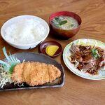 まんぷく - 料理写真:マイ日替り定食