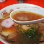 151654159 - 特製中華そば(スープ)