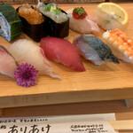 151654953 - お寿司10貫 980円                       2020/5 by  みぃこのごはん日記