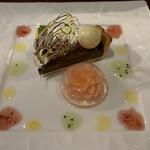 鉄板 松阪屋 - デザート