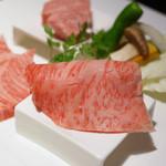 仙台牛焼肉 花牛 - 仙台牛ランチ(霜降り上ロース)