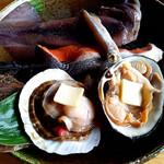 北のランプ亭 - 海鮮炭焼定食