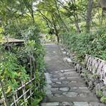 151666198 - 長〜い階段を下りた所に未在があります