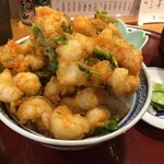 天ぷら いづも - 上掻き揚げ丼