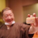 日本料理 たかむら - 分厚い平貝