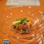 日本料理 たかむら - よだれ鶏