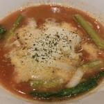 太陽のトマト麺withチーズ - チーズたっぷり