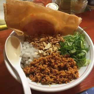 三木ジェット - 料理写真:アジアンジェット(汁なし)