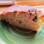 15167733 - この日は柿のケーキ なかなか手が混んでいます。