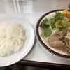 七福 - 料理写真:相席でややテーブル狭し