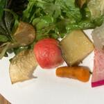 イタリア料理を食べに行こう - 野菜近影