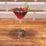 151675642 - Non Alcoholic Cocktail Week にて、6種類あったスペシャルメニューから好みを伝えておすすめ下さったR×Bを。                       とってもLady な見た目おしゃれ印象的な味わいおいしかったわ~