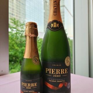 ノンアルシャンパン「Pierre」750ml&200ml