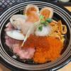 鮮魚鶏出汁麺 沢むら - 料理写真:ちらし麺 松 1,350円税込 海鮮丼かちらし寿司だな