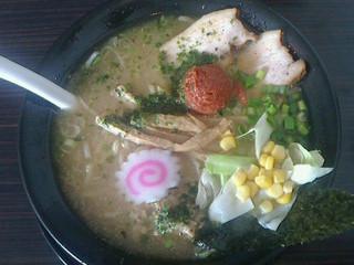 赤湯 とんとんラーメン - みそ納豆ラーメン730円