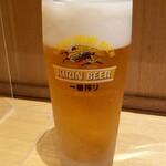 ソバキチ - 生ビール