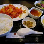 1517045 - 定食(エビチリ)