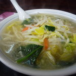 中華料理タカノ - タンメン