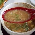 麺屋 夢人 - あっさり鶏ガラ豚骨魚介スープ!刻みレモンが…