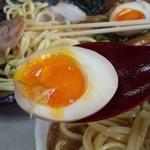 麺屋 夢人 - 煮玉子~♪(*^。^*)