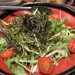 ハイボール無双 的場屋 - 大根と水菜のサラダ