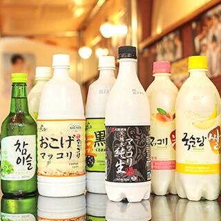 美容や健康にも◎韓国料理にはやっぱりマッコリ♪