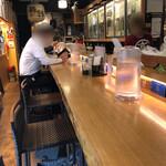日本酒 酒場 巡りや - 店内①
