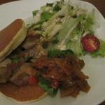 Day's - チキンソテーとラタトゥイユのお食事系パンケーキ650円