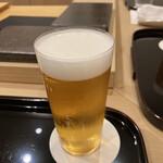 151713963 - 生ビールで乾杯‼️