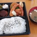 ほっともっと - 料理写真:洋風バラエティー弁当540円