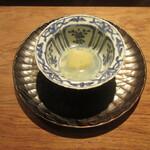 151715769 - 「蕪の煮物 蛤出汁 青柚子」