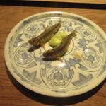 151715775 - 「稚鮎と空豆の天ぷら」