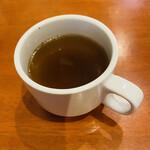 洋食 Shin - 濃いめのオニオンスープ