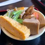 みふね - もも焼き定食(骨あり)1400円