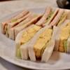 はまの屋パーラー - 料理写真:ほまの屋特製 サンドゥイッチ@税込700円:ハムだけトーストに変更したので、+30円(通常670円)