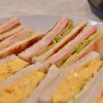 はまの屋パーラー - ほまの屋特製 サンドゥイッチ@税込700円:ハムだけトーストに変更したので、+30円(通常670円)