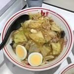 蒙古タンメン中本 - 中華丼(ライス 大盛)