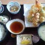 みずほ庵 - 天ぷら定食