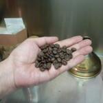 焙煎コーヒー豆ベースキャンプ - 焙煎の豆、写真では伝わらないなぁ